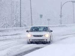 Особливості керування автомобілем у зимовий період