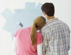Правила фарбування стін