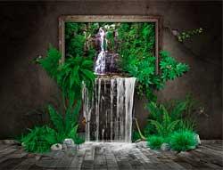 Магія води: фонтан, водоспад, акваріум