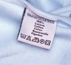Що означають символи на ярликах одягу і білизни