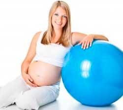 Фітбол для вагітних - вправи на м'ячі