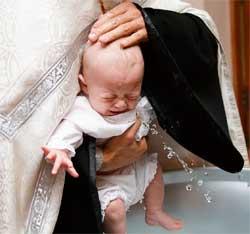 Що подарувати на хрестини дитини