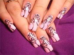 Як навчитися малювати голкою на нігтях