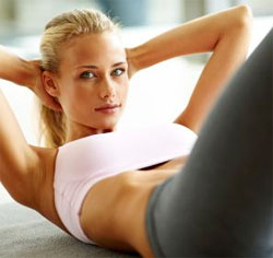 Вправи для схуднення живота і боків