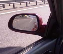 Як правильно налаштувати дзеркала заднього виду