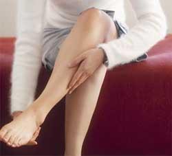 Як зняти судоми в ногах