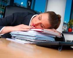 Як не заснути на роботі