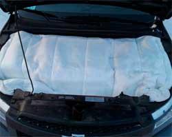 Як утеплити двигун автомобіля взимку