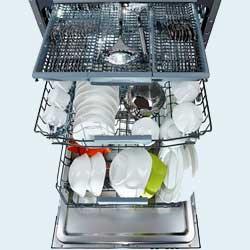 Як вимити 165 предметів посуду за один раз?