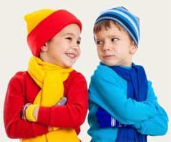 Як колір одягу впливає на дитину