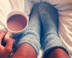 Як зігріти замерзлі ноги